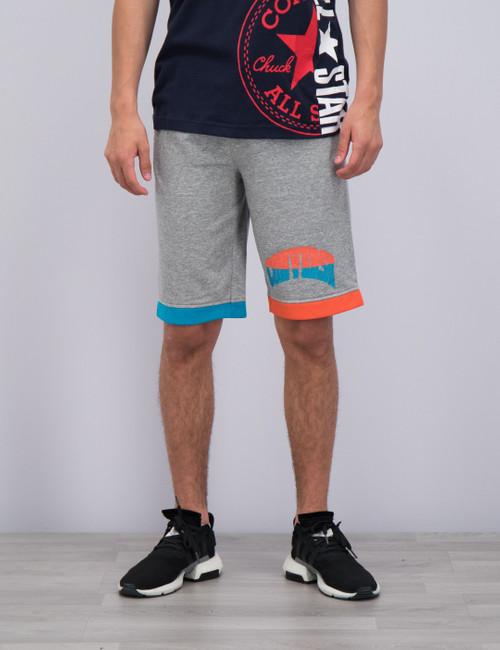 Asymmetrical Colourblock Short