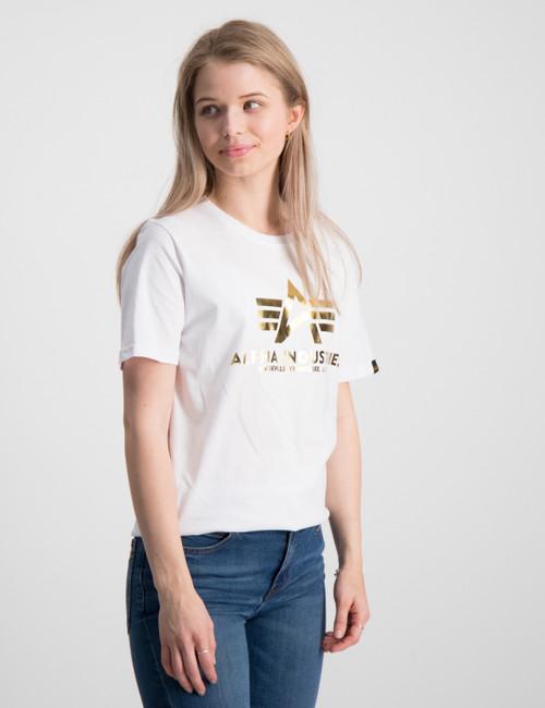 Basic T Foil Print