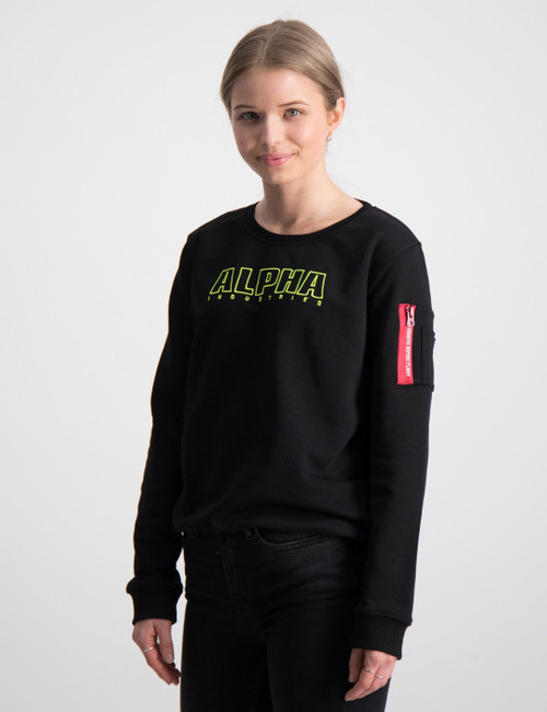 Alpha Embroidery Sweater