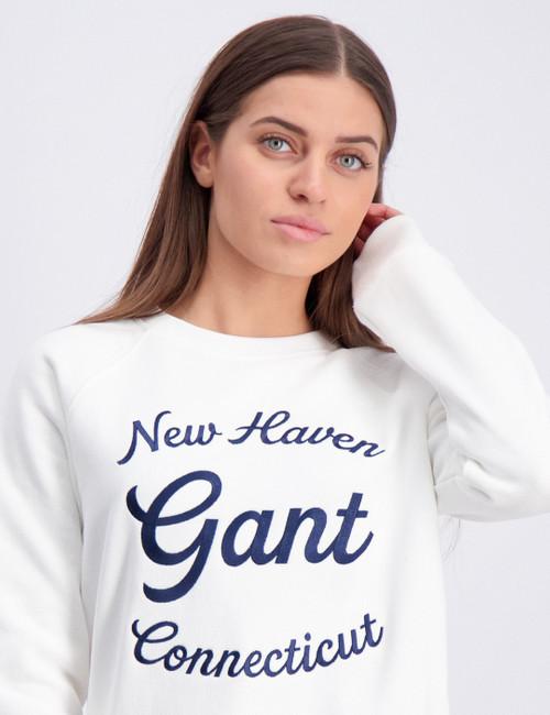 GANT SCRIPT C-NECK SWEAT