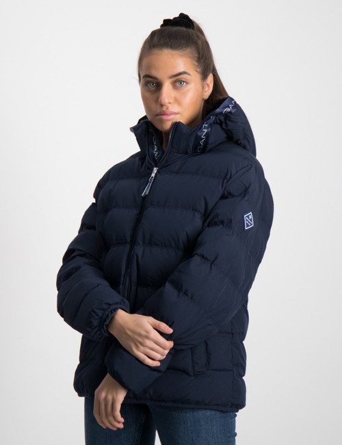 LOCK-UP STRIPE PUFFER JACKET