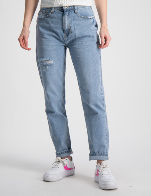 Mom True Indigo Jeans