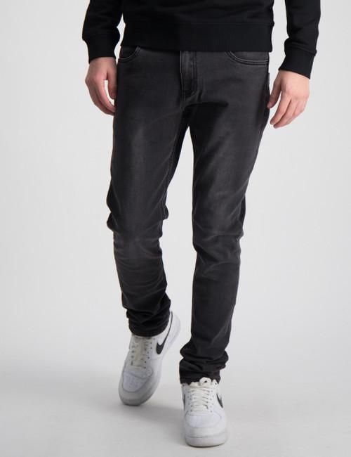 Paint On Dk. Grey Jeans