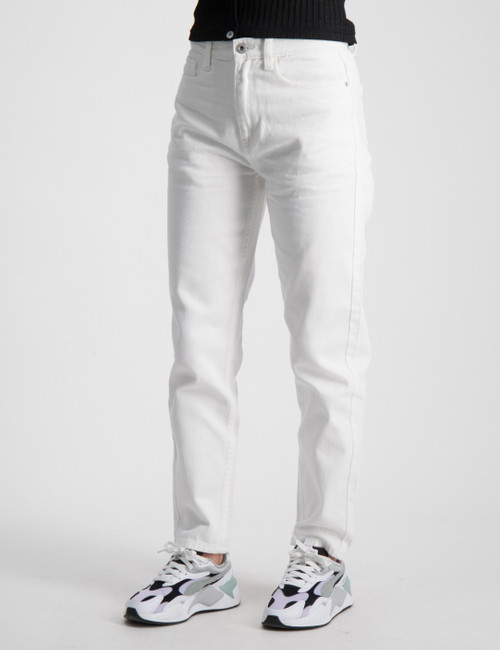 Mom White Jeans