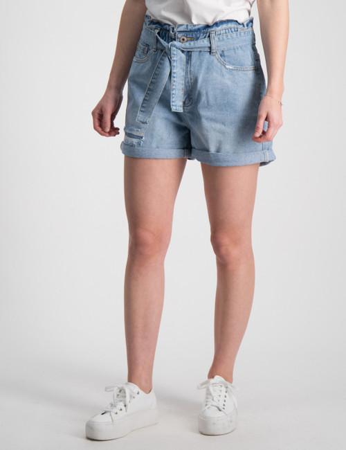 Paper Bag True Indigo Shorts