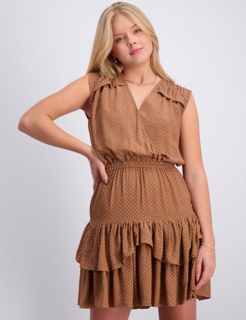 Eliza Ruffle Dress