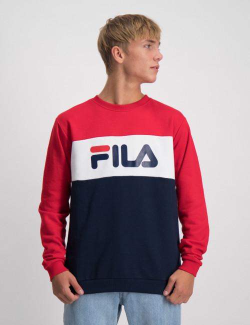 CARLOTTA blocked crew shirt