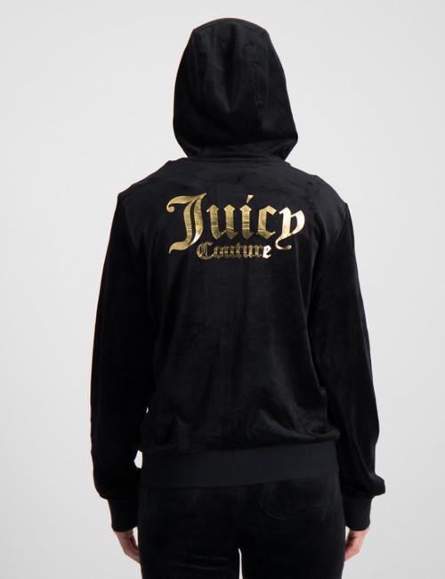 Juicy Velour Zip Through Hoodie