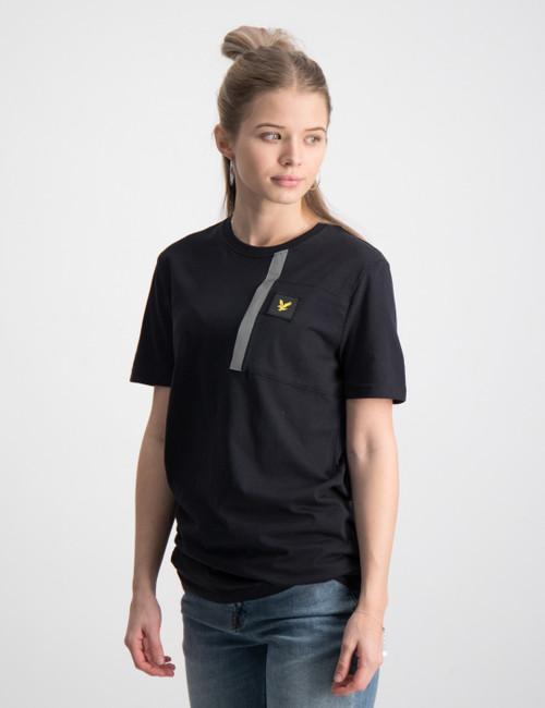 Reflective Detail T Shirt