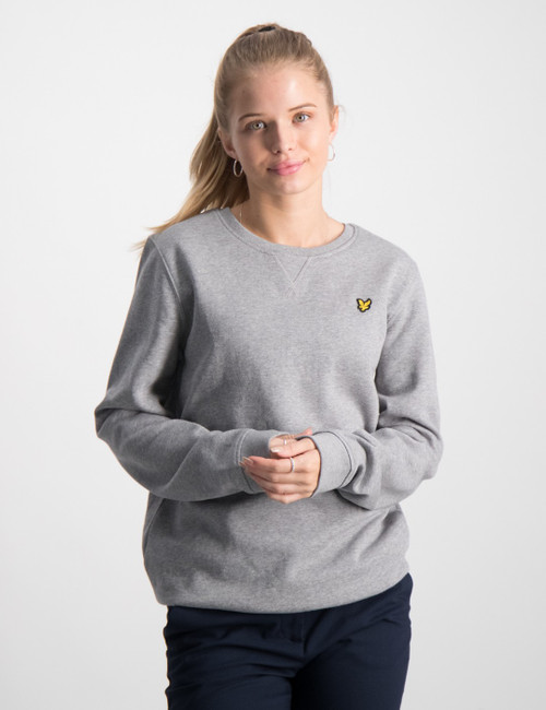 Plain Crew Neck Fleece