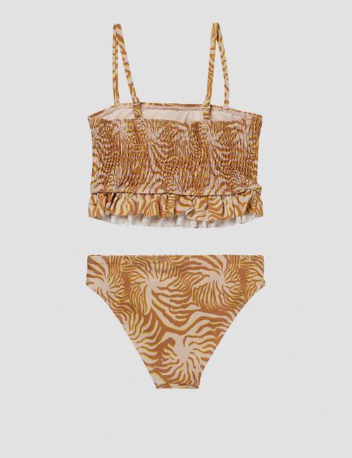 Bikini with longer length top