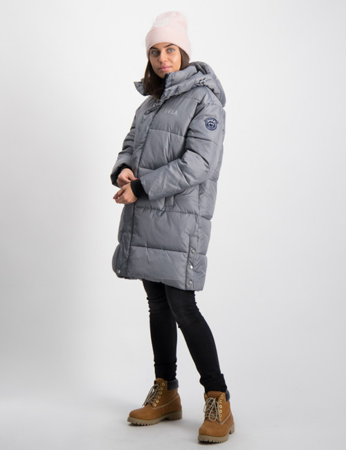 K. Long Puffer Coat