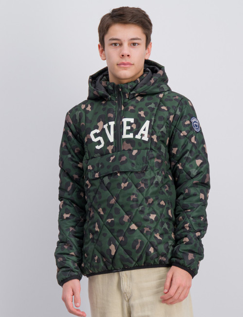 Quilted Anorak Hood Jacket