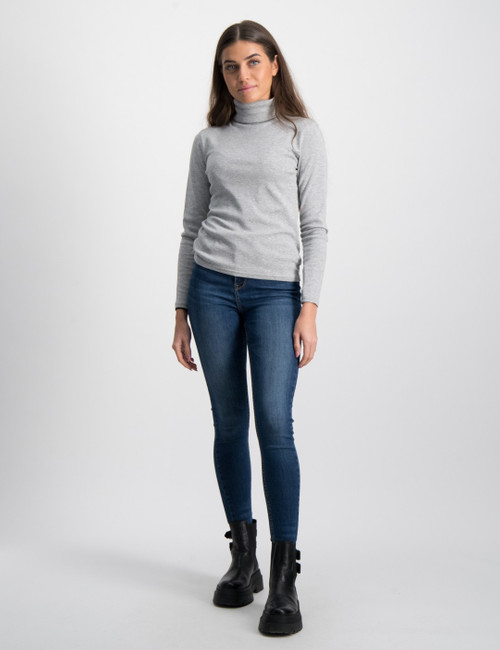 SLD TRTLENCK-TOPS-KNIT