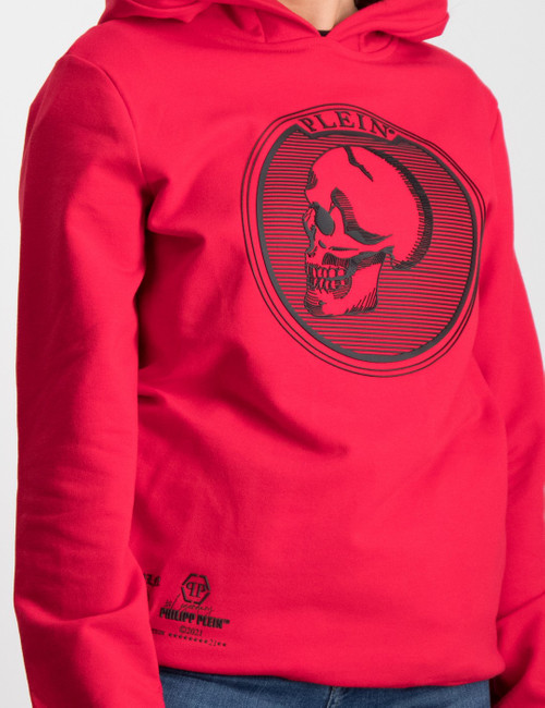 Hoodie sweatshirt Skull and Plein