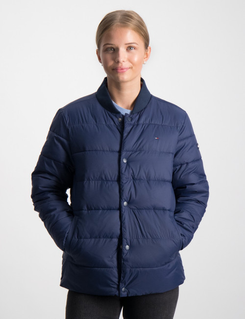 ESSENTIAL STEPPED JACKET