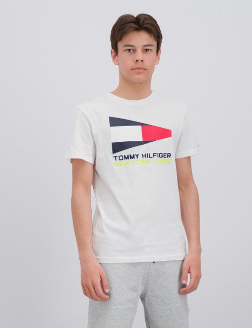 TOMMY FLAG SAILING GEAR TEE