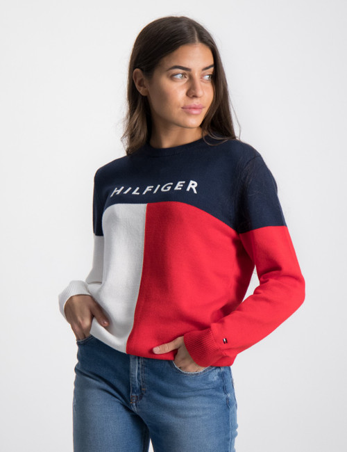 HILFIGER COLORBLOCK SWEATER