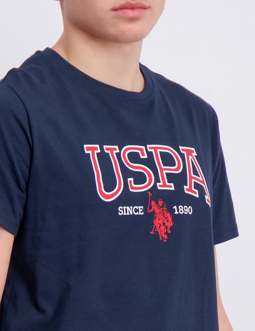 USPA Distort Logo Tee